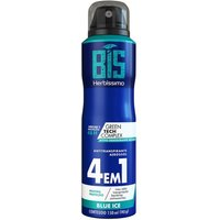 Desodorante Aerossol Bis Herbíssimo Blue Ice 150ml