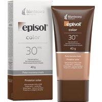 Protetor Solar Facial Episol Color Pele Morena Mais FPS 30 com 40g 40g