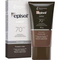Protetor Solar Facial Episol Color Pele Negra FPS 70 com 40g 40g