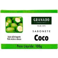 Sabonete em Barra Granado Coco Pele Mista a Oleosa com 100g 100g