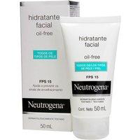 Creme Hidratante Facial Neutrogena Oil Free FPS 15 em Gel com 50ml 50ml