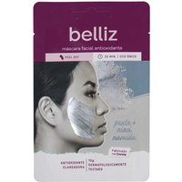 Máscara Facial Antioxidante Belliz com Prata 10g 10g