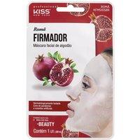 Máscara Facial de Algodão Kiss NY Romã Firmador 1 Unidade