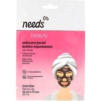 Máscara Facial Needs Beauty Bolhas Espumantes 20ml