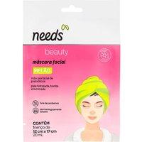 Máscara Facial Needs Beauty Melão 20ml
