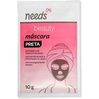 Máscara Facial Preta Needs Beauty com 10g 10g