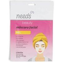 Máscara Facial de Mel Needs Beauty com 1 unidade 1 Unidade