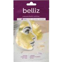 Máscara Facial Nutritiva Belliz com Ouro 1 Unidade 1 Unidade