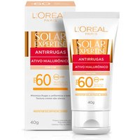 Protetor Solar Facial L'Oréal Expertise Antirrugas Cor FPS60 com 40g 40g