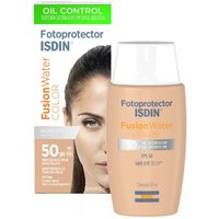 Protetor Solar Facial Isdin Fotoprotector Fusion Water Color FPS 50 com 50ml 50ml