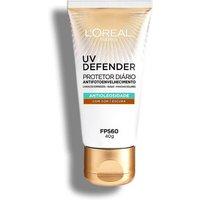 Protetor Solar Facial L'Oréal UV Defender Antioleosidade Cor Escura FPS60 40g 40g