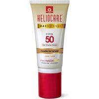 Protetor Solar Color Nude Bronze Heliocare Max Defense FPS 50 Gel Creme com 50g 50g