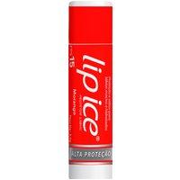 Protetor Labial Lip Ice Morango FPS 15 com 3,5g 3,5g