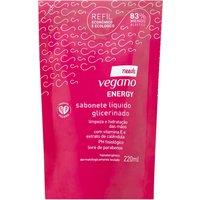 Refil Sabonete Líquido Glicerinado Needs Vegano Energy 220ml
