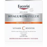 Sérum Facial Eucerin Hyaluron-Filler Vitamina C Booster com 3 Ampolas de 8ml cada 3 Ampolas