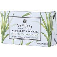 Sabonete Vegetal em Barra Vyvedas Capim Limão 120g