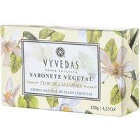 Sabonete Vegetal em Barra Vyvedas Flor de Laranjeira 120g