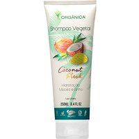 Shampoo Vegetal Orgânica Coconut Fresh 250ml