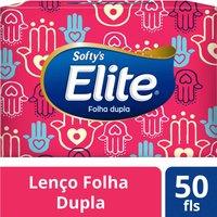 Lenços de Papel Soft's Softy's 50 Unidades