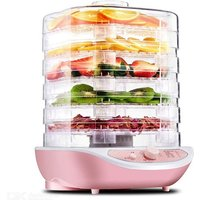 Food Dehydrator Fruit Vegetable Herb Meat Drying Machine Pet Snacks Dryer With 5 Trays 220V