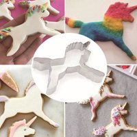 Unicorn Horse Cookies Cutter Cake Chocolate Bread Dessert Molds Cake Decorating Biscuit Pastry Baking Tools