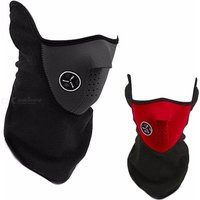 Windproof Half Face Mask Warm Fleece Ski Masks Neck Warmer For Winter Outdoor Cycling