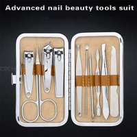 Nail Clippers Set 10 In 1 Stainless Steel Nail Care Kit