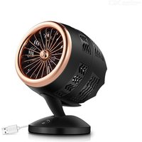 USB Air Conditioner Fan Portable Personal Cooling Fan With 2 Speed Settings
