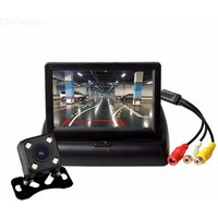 ZIQIAO XSP03-069 4.3 Inch Monitor and Dynamic Trajectory Car Rear View Camera Kit