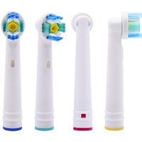 Oral B Replacement Brush Head Electric Toothbrush EB18AEB-18A Universal DuPont Brushing Cross Action Toothbrush Teeth Cleaning