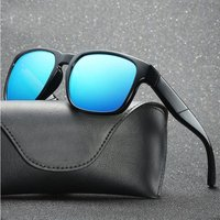 2018 New Fashion Semi Rimless Polarized Sunglasses Men Women Brand Designer Half Frame Sun Glasses Classic Oculos De Sol