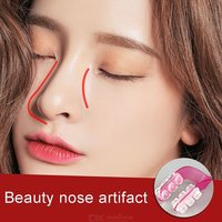 Magic Nose Shaper Clip Artifact Nasal Corrector Unisex Nose Up Lifting Shaping Beauty Tool Safety Silicone Pad Clips