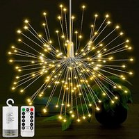 Christmas Firework Light Waterproof Fairy Light With 8 Modes For Home Wedding Party Patio