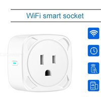 US WiFi Smart Plug Timing Remote Control Mini Socket Outlet Support Voice Control Compatible Amazon Alexa/echo/Googlehome/IFTTT