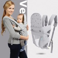 Breathable Hip Seat Baby Carrier Backpack Infant Toddler Front Back Carrying Wrap Sling Seat For 3-30 Months