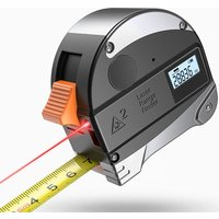 2-in-1 Laser Tape Measure 5M Measuring Tape And 30M Laser Distance Meter
