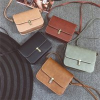 Fashion Womens Shoulderbag Casual Solid Color Messenger Bag