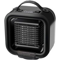 Small Space Heater 1000W Portable Electric Oscillating Ceramic Heating Fan With Tip Over Overheat Protection