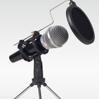 Lefon Professional Microphone Condenser for Computer Laptop PC USB Plug +Stand Studio Podcasting Recording Microfone Karaoke Mic
