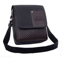 Premium Vintage Leather Crossbody Bag Men Messenger Bag Briefcase