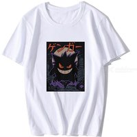 Personalized Cartoon Print Loose Short Sleeve Soft T-Shirt Casual Round Neck Tee Top For Men Boys