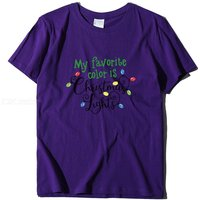 Stylish English Letter Print T-Shirt Casual Short Sleeve Round Neck Tee Tops For Girls Women