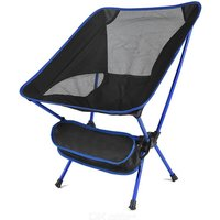 Travel Ultralight Folding Chair, Portable High Load Outdoor Camping Chair For Beach Hiking Picnic Seat Fishing Tool Chair