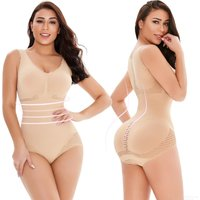 D1624 Sexy Mesh Bodysuit Corset for Lifting Belly and Tightening Hip, Body Shaper Slim Tights for Women