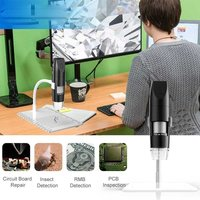 Wireless Digital Microscope Portable 1080P Endoscope With 8 Adjustable LED Lights 50x – 1000x Magnification