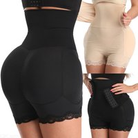 Meilun A198 Body Shaper High Waist Corset Shaping Pants Hip Lifting Beauty Underwear (with Hip Pad)