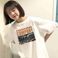 Womenâ?™s T-shirt Summer Harajuku Style Fashionable Casual Loose Round Neck Short Sleeve T-shirt Printed T-shirt Tops