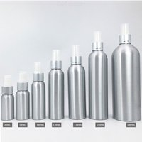 Aluminum Spray Bottle Wash-Free Alcohol Disinfectant Dispensing Bottle Sprayer Atomizer, 30ml-500ml