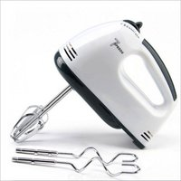 7-Speed Hand Mixer With 4 Pieces Stainless Blender, Ice-Cream Egg Cake/Cream Mix, Egg Bitter