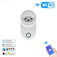 Smart Plug WiFi Voice Control Smart Socket With Timer Compatible With Alexa Google Assistant - Switzerland Plug